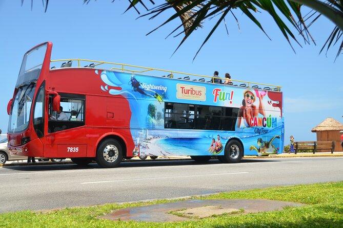 Turibus Hop-on Hop-off City Tour Cancun plus Wax Museum