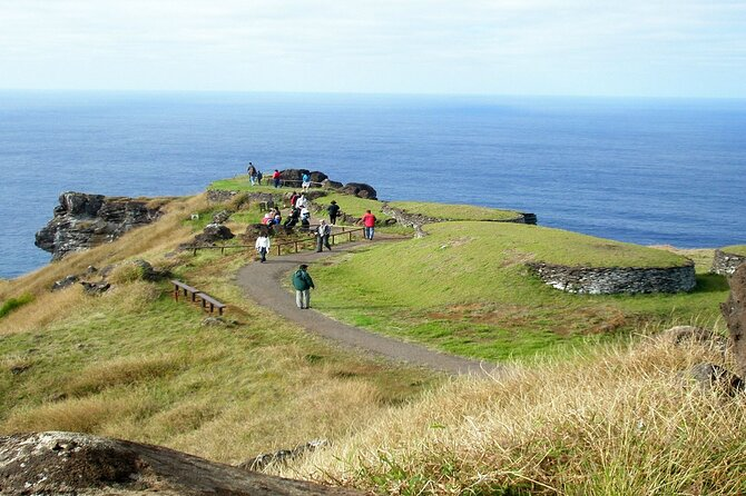 Orongo Ceremonial Center on Easter Island