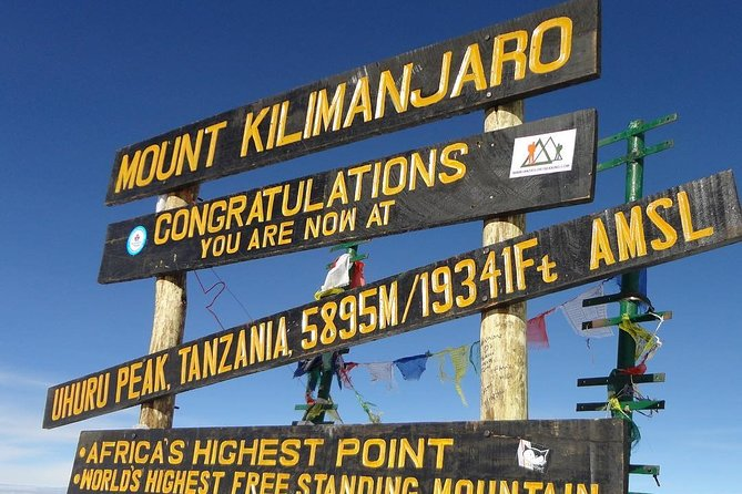8 days Kilimanajaro Mountain trekking
