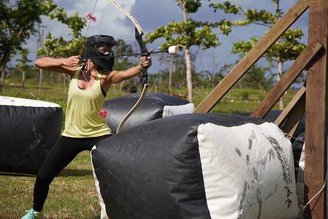 Archery Tag at Hacienda Campo Rico from San Juan