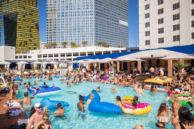 Las Vegas VIP Private Party Bus Day Club Crawl & Pool Party