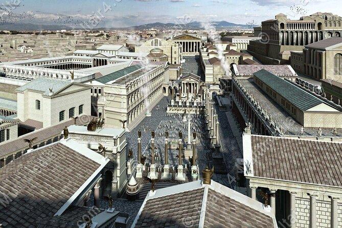 Roman Forum virtual reality experience