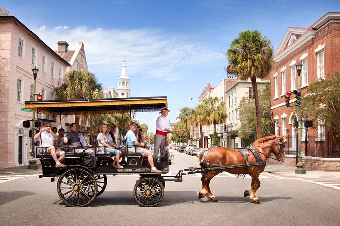 Charleston's Old South Carriage Historic Horse & Carriage Tour