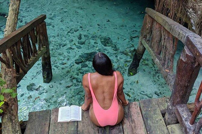 Tulum Coba cenote swim