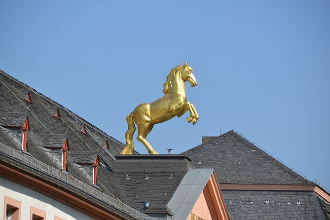 The Golden Horse on the State Museum (Landesmuseum)