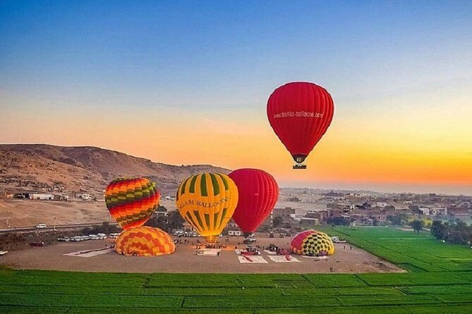 2-Day Luxor Tours with Hot Air Balloon and Banana Island From Marsa Alam