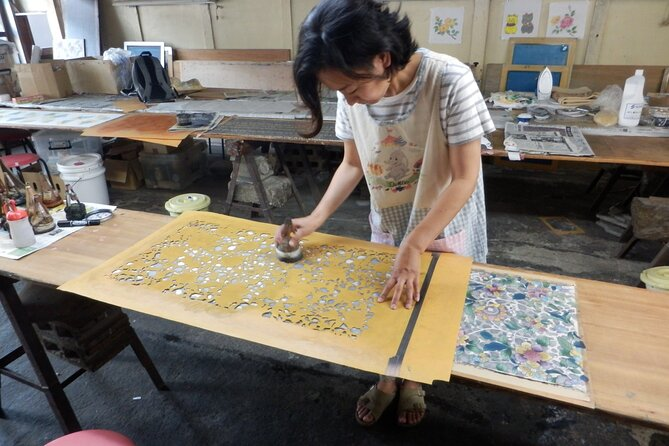 Experience Nagoya Yuzen Dyeing