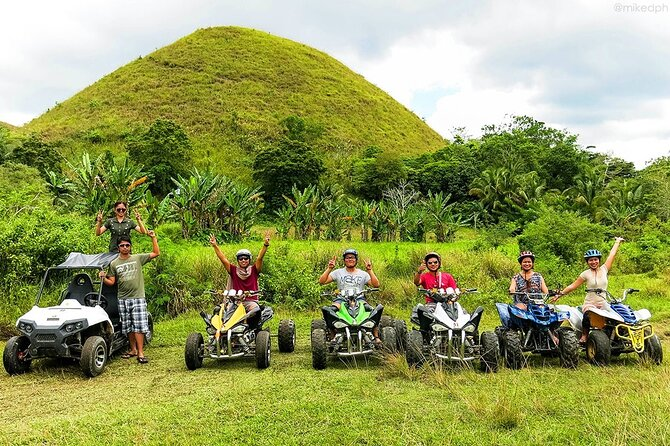 Bohol Chocolate Hills ATV Adventure with Loboc River Cruise Buffet Lunch