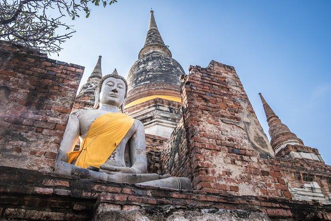 From Bangkok: Small Group Ayutthaya Historic Park Tour
