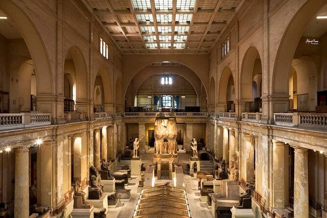 Private Egyptian Museum Mohamed Ali Mosque and Old Cairo Tour