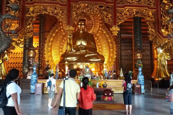 1-day Bai Dinh pagoda and Trang An grottoes