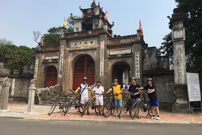 1-day Discover Co Loa Ancient citadel by bike