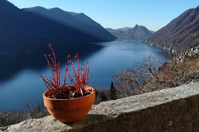 Half-Day Bike Tour around Lake Lugano with Lunch