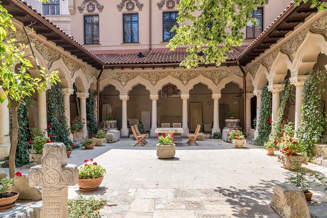 Stavropoleos Monastery Church inner courtyard