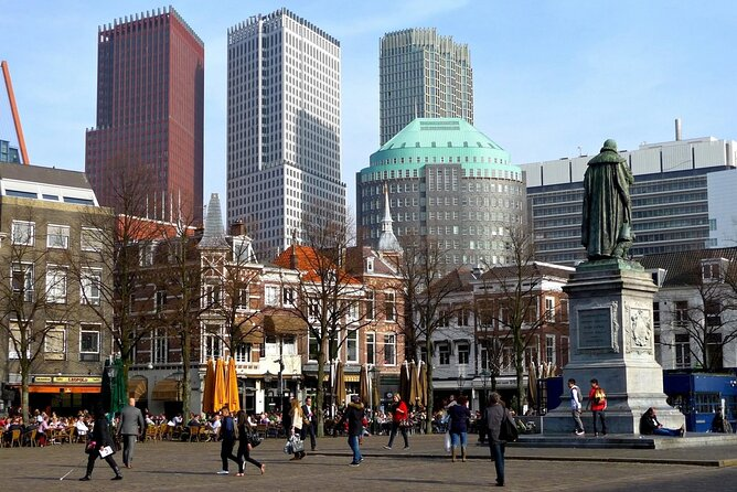 South Holland in one day: Rotterdam, The Hague and Delft cities private tour
