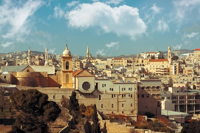 Haifa Shore Excursion: Private Jerusalem and Bethlehem Day Trip