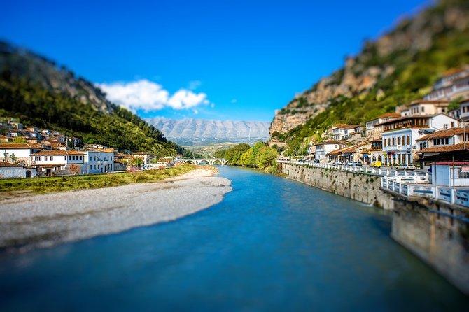 Walking tour and trekking in Gorica hill of Berat.