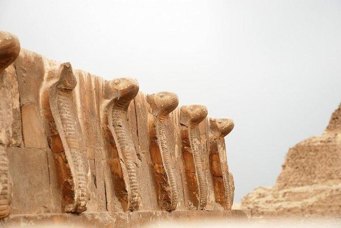 New kind of sites tour; Memphis, Sakkara & Dahshur Pyramids