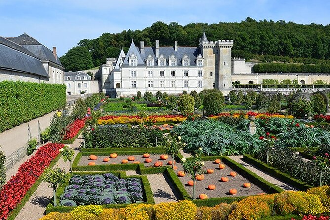 The castles of Ussé and Villandry - With private driver and entrance tickets