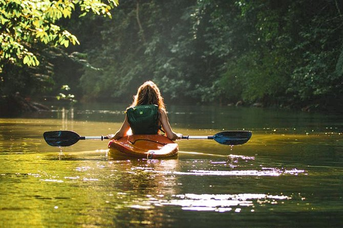 Kayaking from Kitulgala