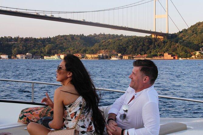 Bosphorus Sunset Cruise on Elegant Yacht - Small Group Cruise