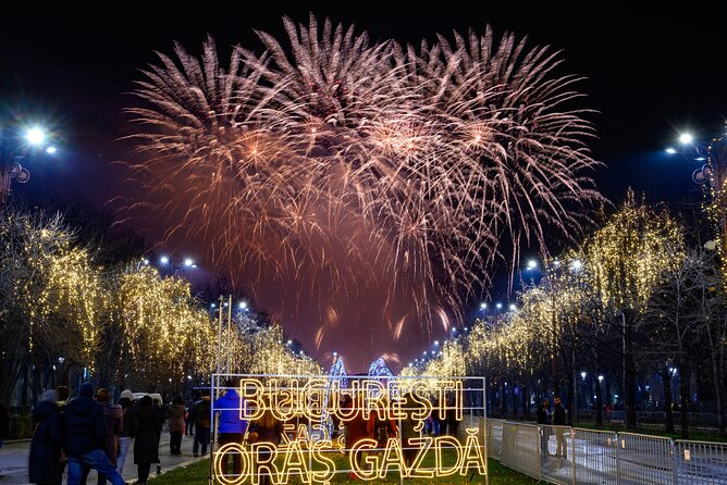 Celebrate the New Year in Bucharest