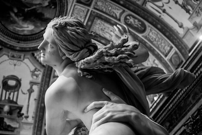 Private 3 hour tour of Baroque Rome with Borghese Gallery with an Art Historian.