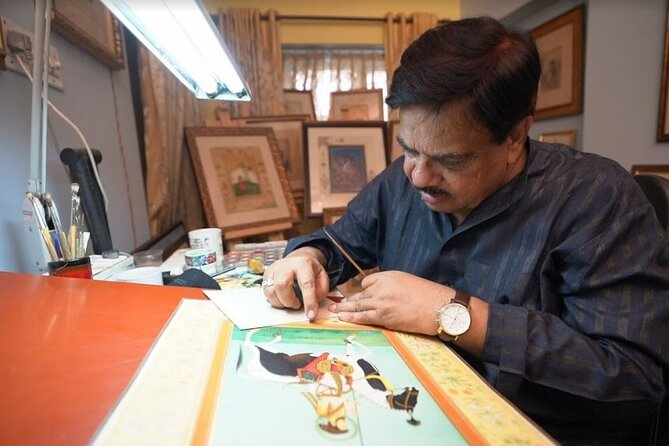 Private Miniature Painting Workshop in Rajasthan
