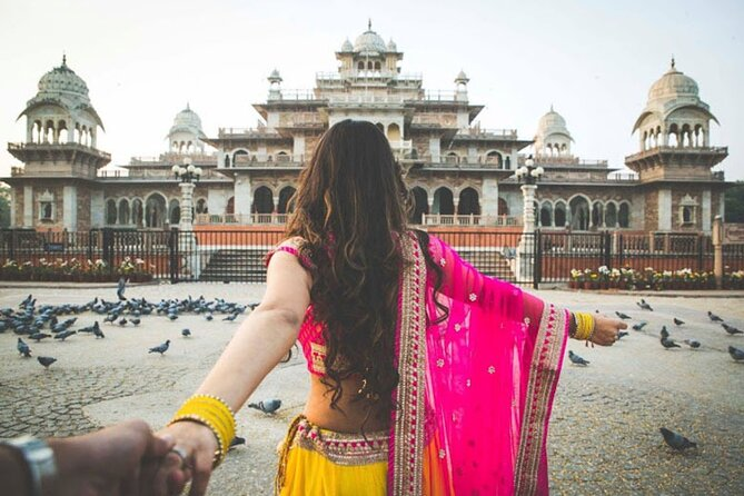 Golden Triangle Tour by Train and Private Car
