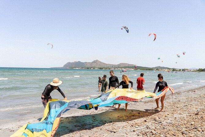 Guided Kitesurfing Lesson in Mallorca