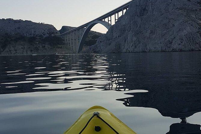 Private Kayak Tour under the Krk Bridge