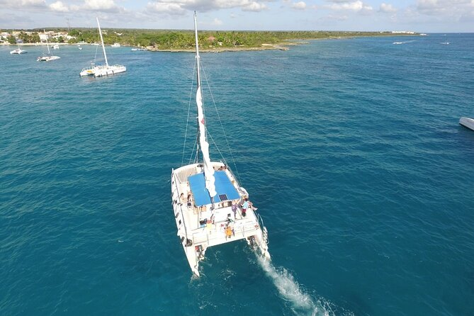 Socially Distanced Saona Island Catamaran Cruise