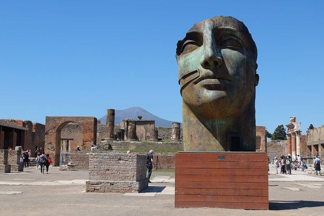 Pompeii Half Day Private Tour with Mercedes Sedan and Guide