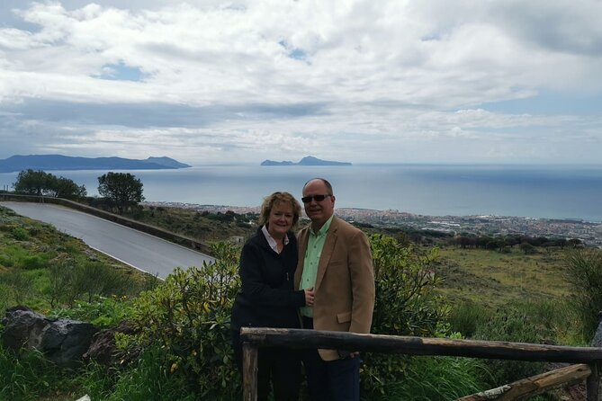 Pompeii SkipTheLine and Mt Vesuvius with Lunch&WineTasting from Naples Port
