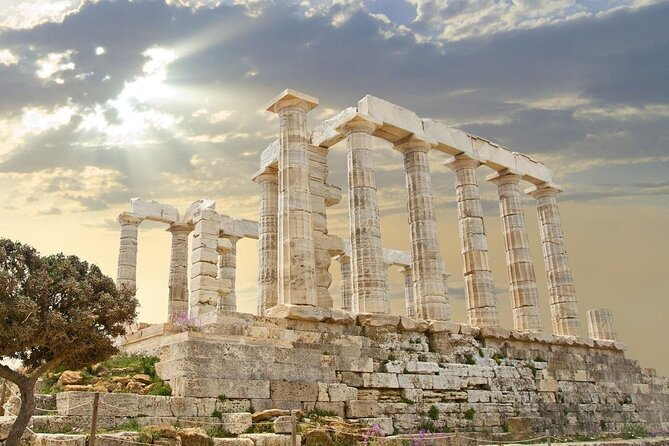 Athens & Sounio Full Day 8 Hours Prvate Tour.