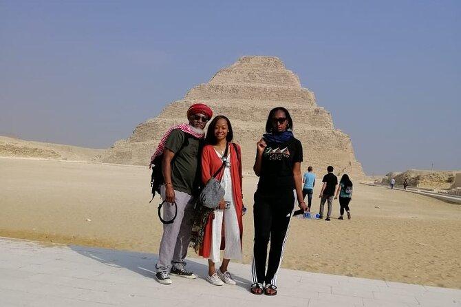 Private Day Tour to Giza Pyramids And Sakkara Step Pyramid