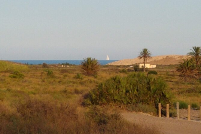 Calblanque natural park by bike