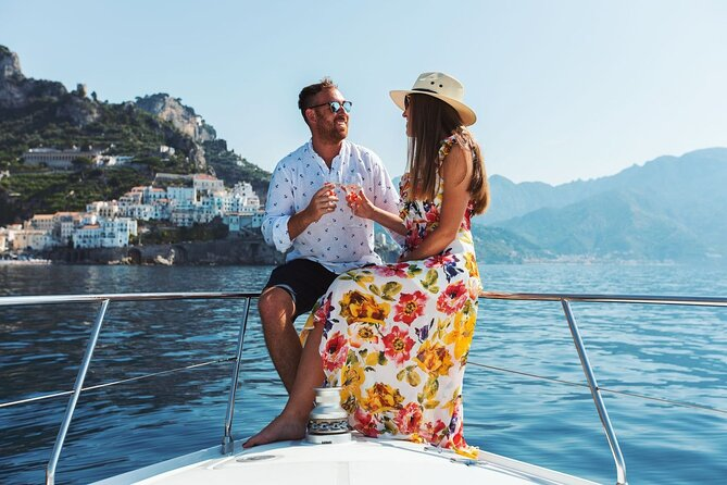 Private Full-Day Guided Boat Tour at the Amalfi Coast