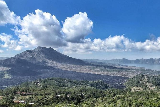 Private Full Day Tour Adventurous Batur Volcano and Tegenungan Waterfall