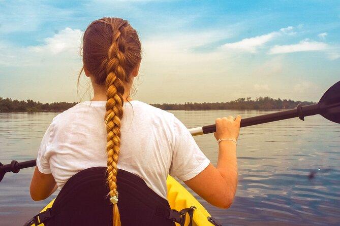 Kayaking from Hikkaduwa
