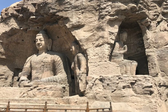 Private Day Tour to Yungang Caves, Wooden Pagoda, Hanging Temple from Taiyuan