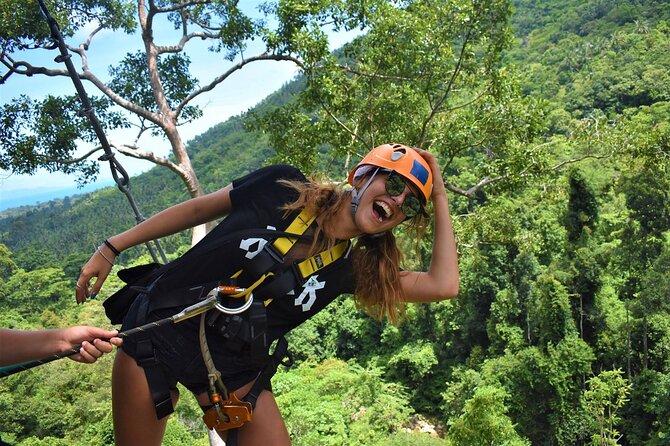 The Biggest and Longest Zipline By Skyhawk Adventure Tour From Koh Samui