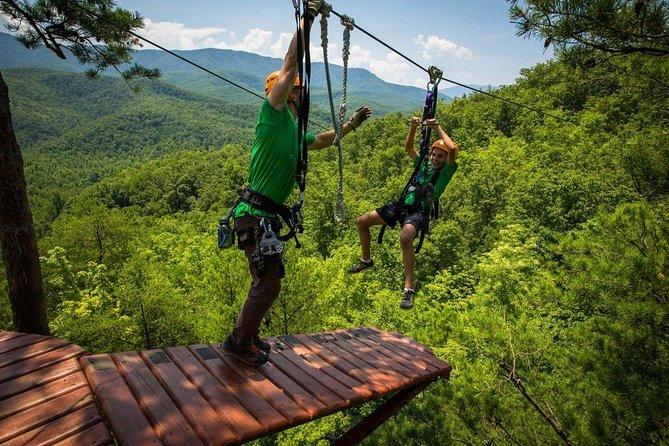 Treetop Tour Zipline Cable Rides in Koh Samui
