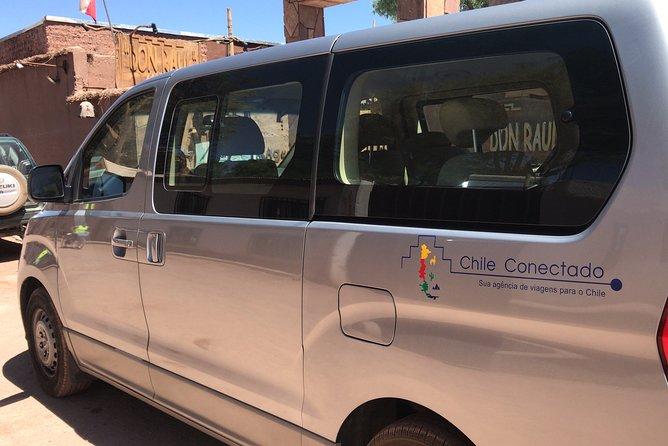 Private transfer San Pedro de Atacama - calama airport