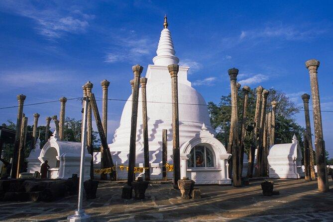 Sacred City of Anuradhapura from Dambulla