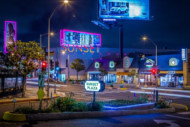 Hollywood Legends: A self-guided audio tour of the Sunset Strip