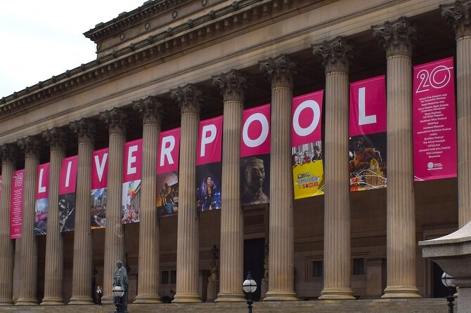 Liverpool History and Culture Audio Tour: Rock out along the River Mersey