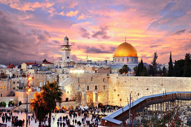 Discover the Holy City of Jerusalem on a full-day private tour