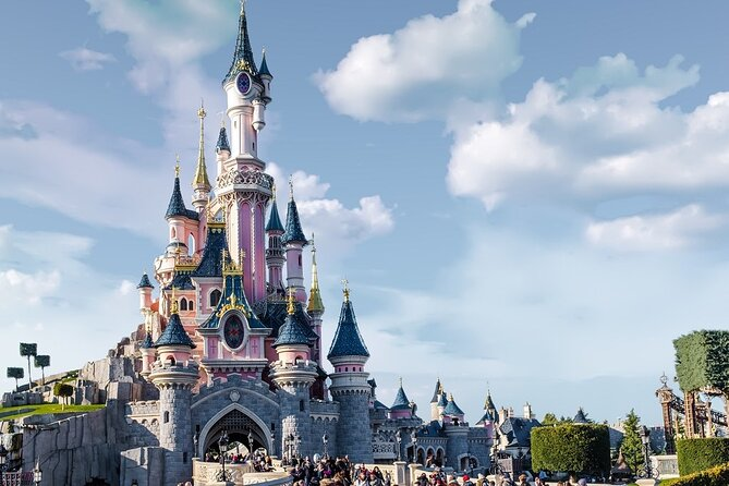 Private one way transfer from Paris city to Disneyland Paris