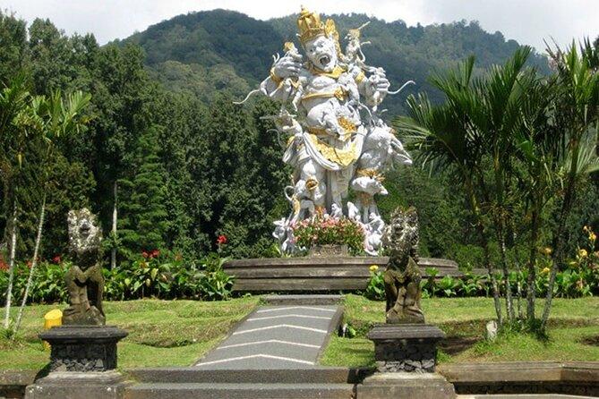 Trip to Bali Paradise at Sekumpul Waterfall, Twin Lake, and Botanical Garden
